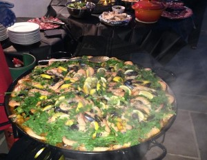 Seafood Paella 2014